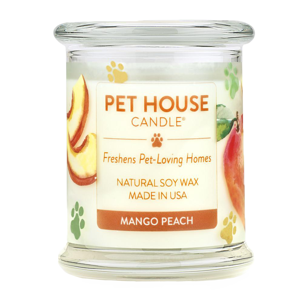 Renske Pet House Candle Mango Peach
