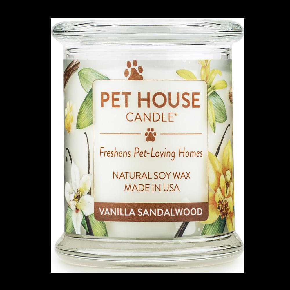 Renske Pet House Candle Vanilla Sandalwood