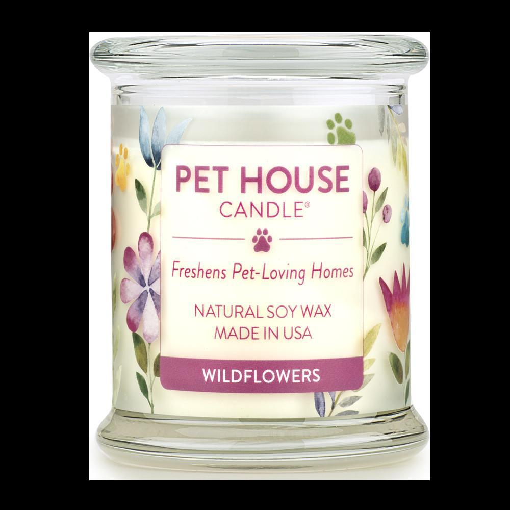 Renske Pet House Candle Wildflowers_