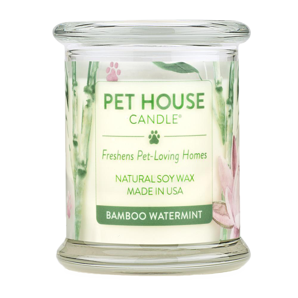 Renske Pet House Candles Bamboo Watermint