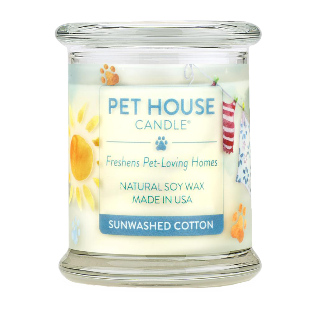 Renske Pet House Candles Sunwashed Cotton