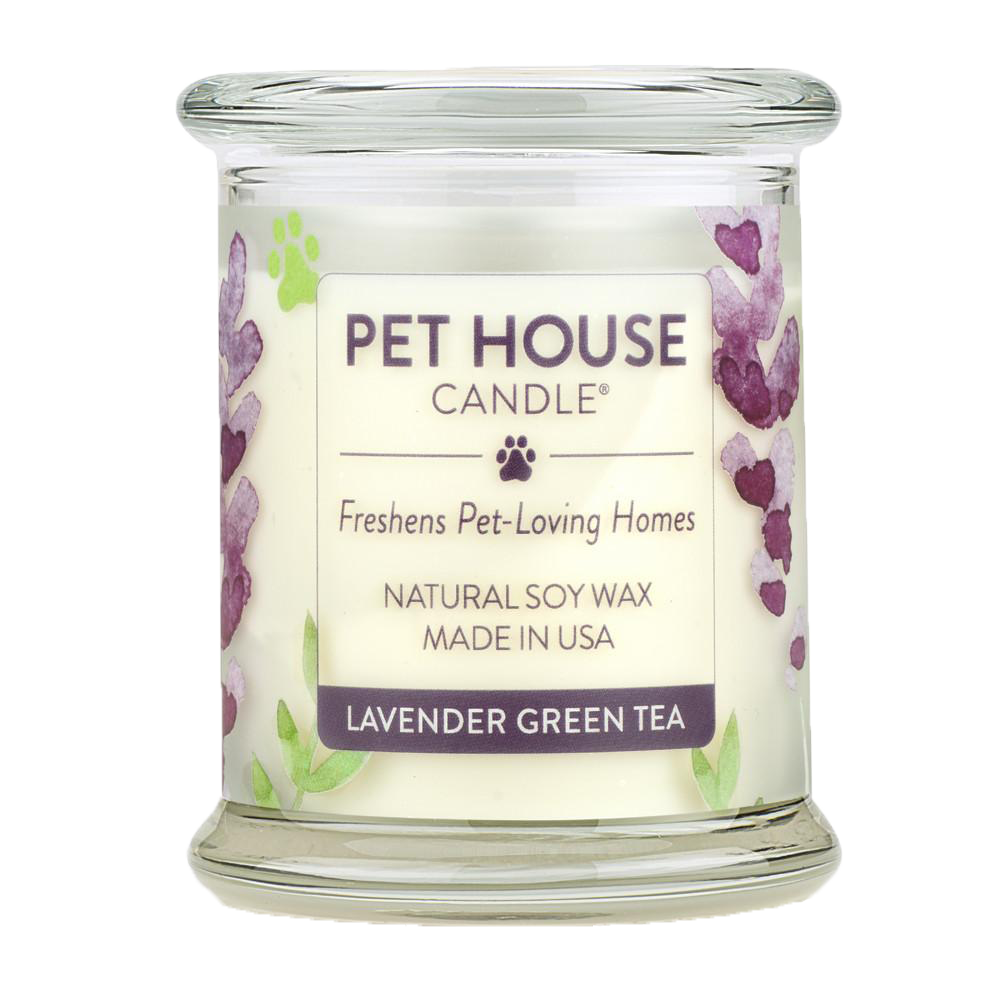 Renske Pet House Candle Lavendeer Green Tea