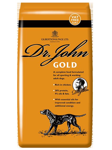 DR JOHN GOLD voeding