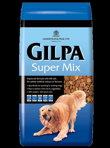 GILPA SUPER MIX droogvoer hond