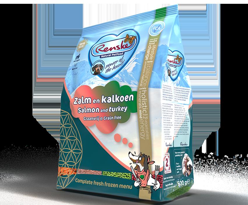 Renske Freshly Frozen Salmon-Turkey 600g-min